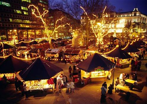 Christmas Market in Hungary