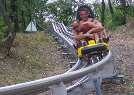 Toboggan ride